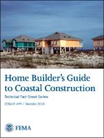 Home Builders Guide To Coastal Construction cover sheet