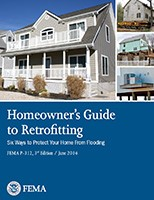 Homeowners guide to retrofitting cover report from FEMA