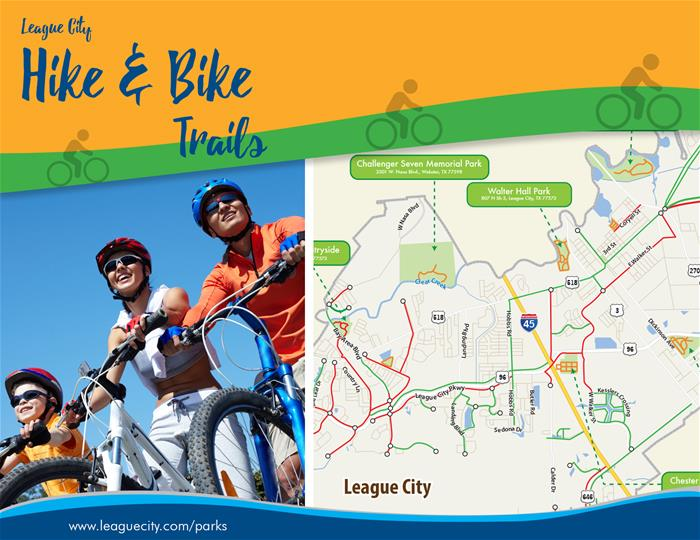 League City Hike and Bike Trails Brochure (PDF)