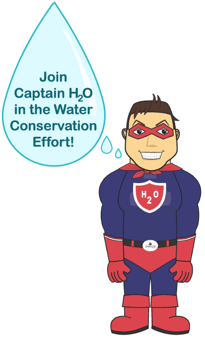 Captain H2O Graphic