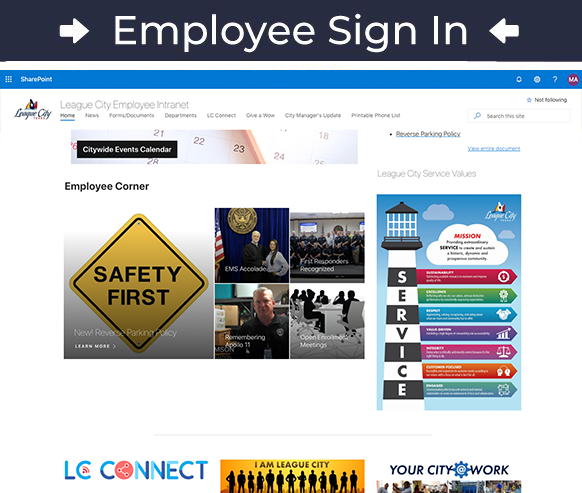 Employee Intranet Sign In
