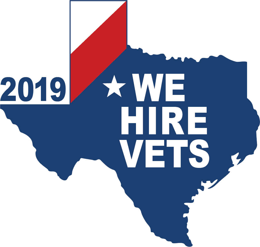 We Hire Vets 2019 Decal