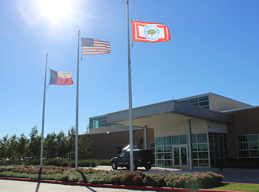 Front of Hometown Heroes Park Recreation Center