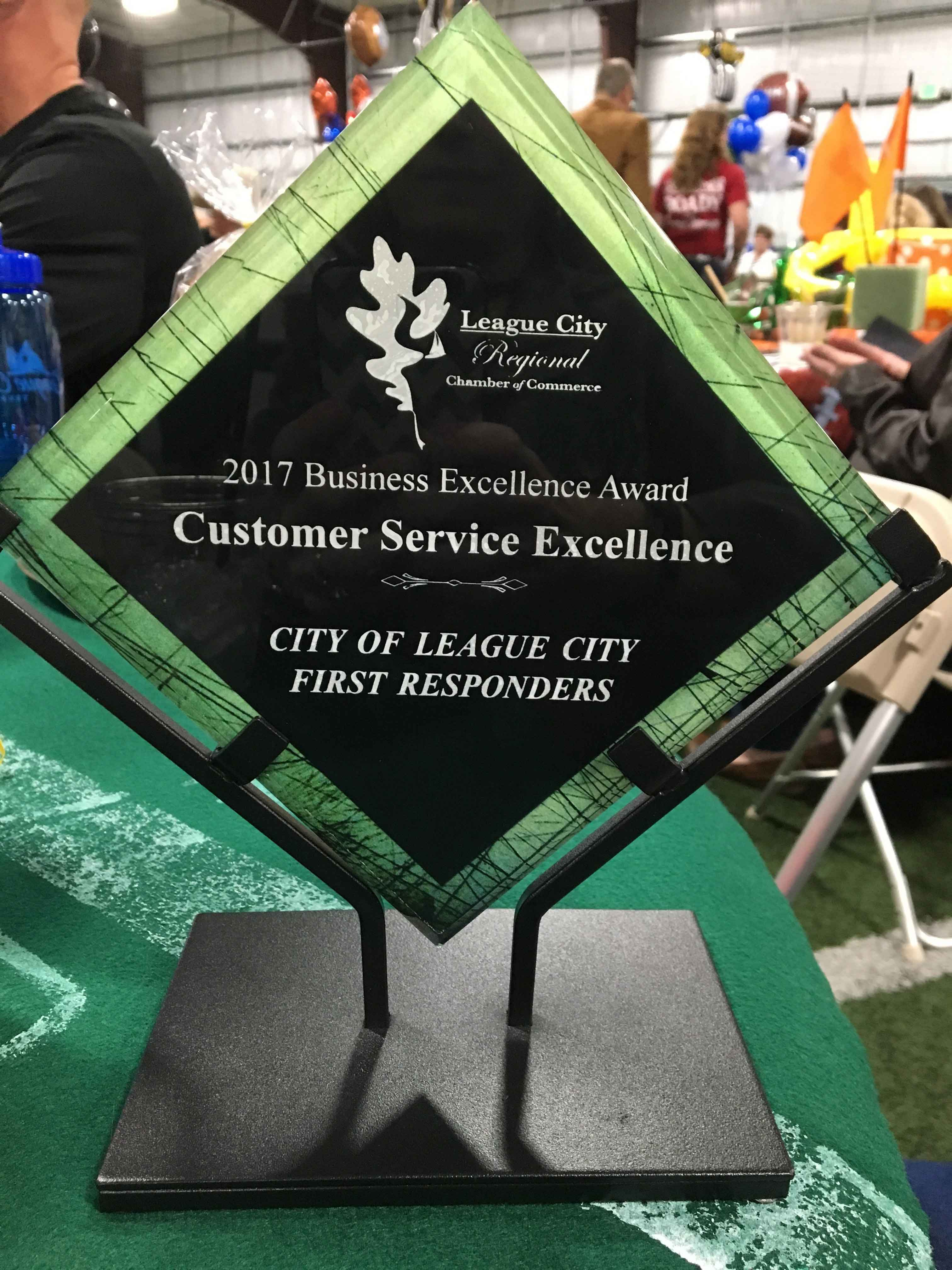 League City Regional Chamber of Commerce Award