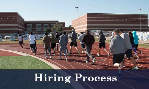 Police candidates training-Hiring Process