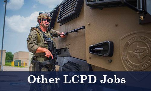 Swat member on an armored tank-Other LCPD Jobs