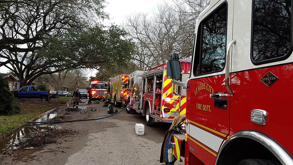 Fire Department responds to structure fire
